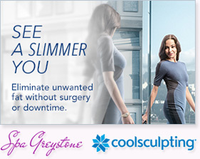 See a slimmer you with CoolSculpting
