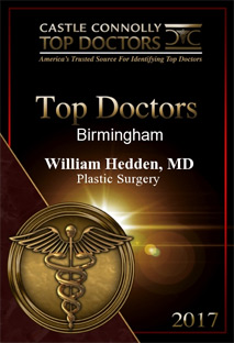 Castle Connolly Top Doctors 2017 William Hedden MD